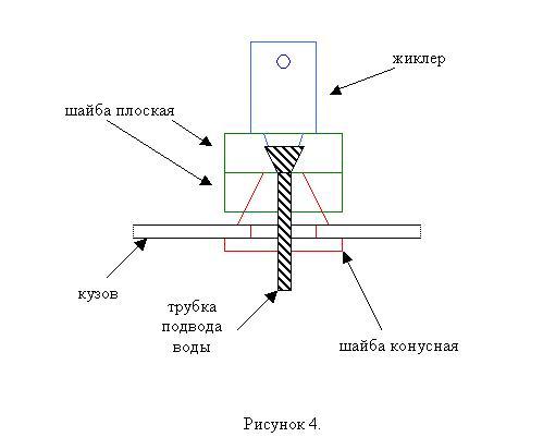 Модернизация омывателя стекла задней двери