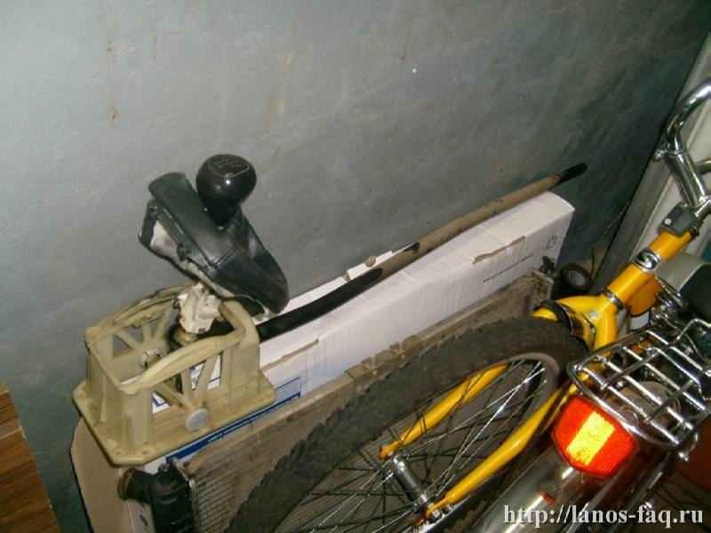 Замена радиатора отопления ланос