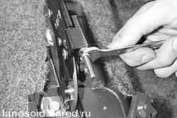 Как подтянуть ручной тормоз на шевроле ланос