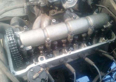 Регулировка клапанов Chevrolet Lanos